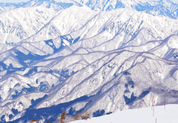 八方尾根スキー場山頂からの景色2